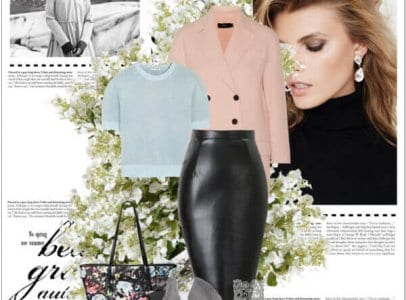 Style Guide: Leather Pants and Skirts