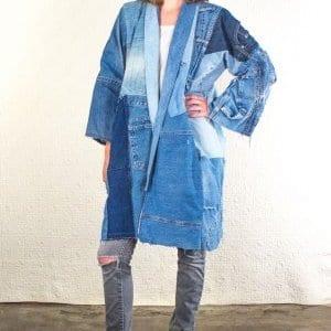 Turkish inspired yoko ono coat by Silkdenim