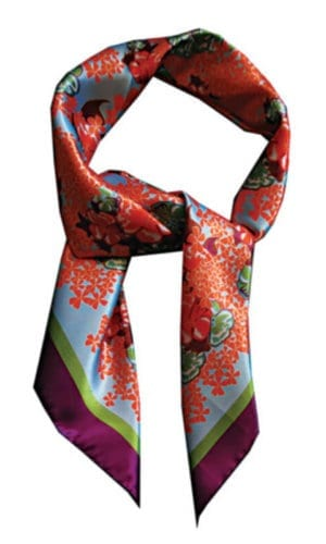 Lisan-Ly Digital Print Silk Scarve
