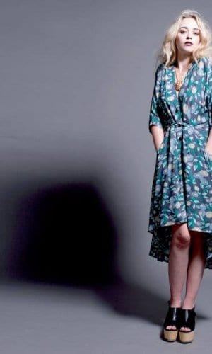 Alice's Pig Maxi Floral Print Dress