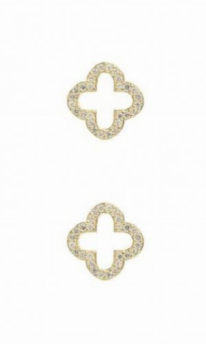 Latelita Open Clover Earrings