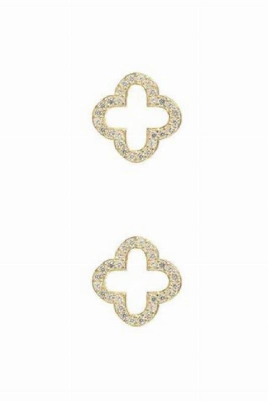 Latelita Open Clover Earrings