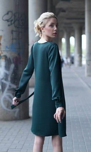 Bastet Noir Wrap Shirt Dress