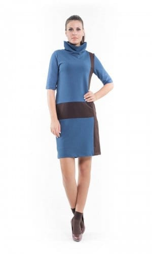 Conquista Polo Necked Dress