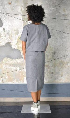 Foko Midi Dress by Nah-Nu