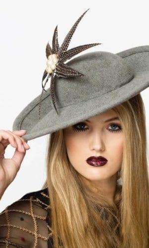 Grey Hat by Karen Morris