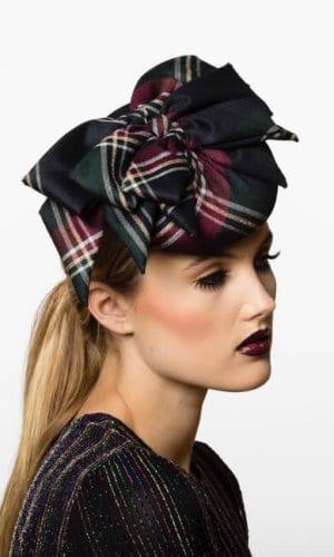 Lady Tartan Wool Hat by Karen Morris