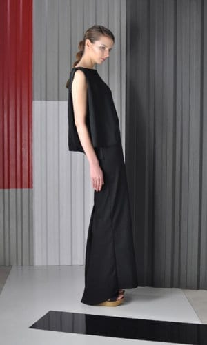 Maxi Cotton Dress by Nah-Nu