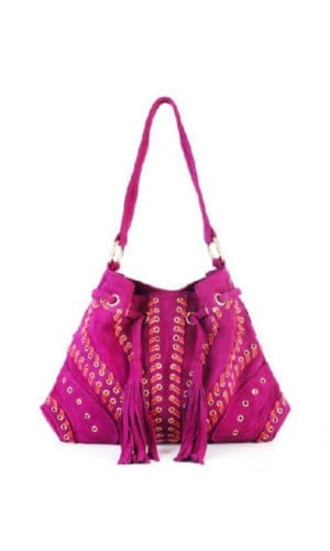 Pink Bucket Bag By Lebulga