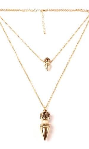 Gabriella Metallic Necklace