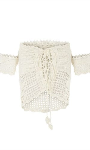 Chantilly Crop Top by Maiyo