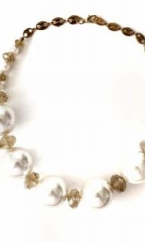 Z Pearl Necklace