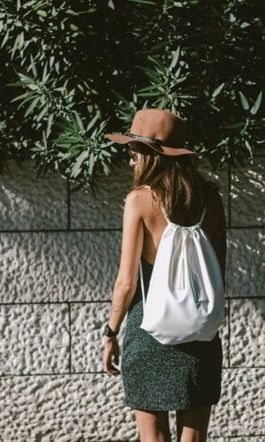 Women's Grey Rucksack By Franchella