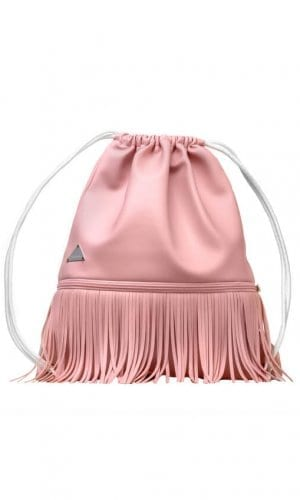 Light Pink Rucksack By Franchella