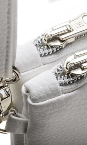 White Clutch Bag By Frachella