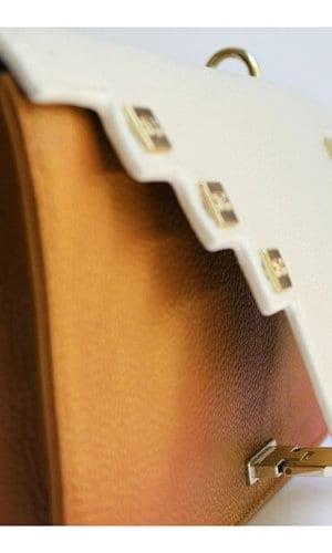 Yellow Clutch Shoulder Bag By Susurro Ldn