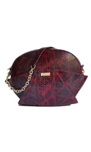 Red Lima Shoulder Bag By Susurro Ldn