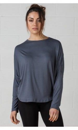 Grey Jersey Circular Top
