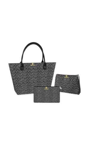 Black & White Bag Set By KhuKhuz