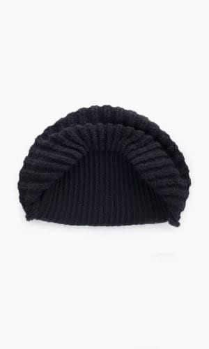 Black Cauliflower Hat By Mimoods Knits