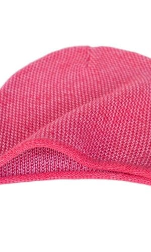 Fuschia Knit Beanie By Mimoods Knits