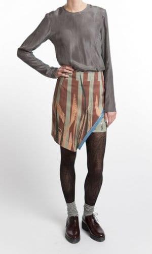 Zipper Skirt By Clara Kaesdorf