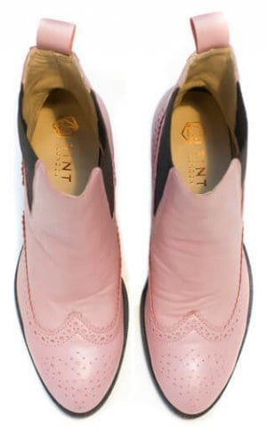 Pink Chelsea Boots