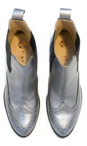Silver Brogues