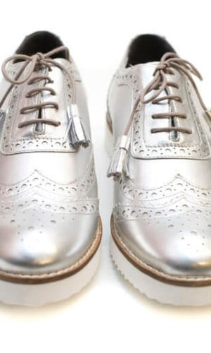 Silver Brogues