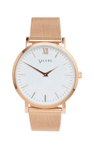 Primus Rose Gold Watch By Valere London