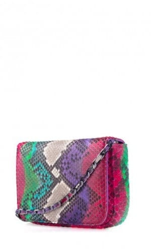 Multi-Colour Downing Python Crossbody Bag By Cashhimi