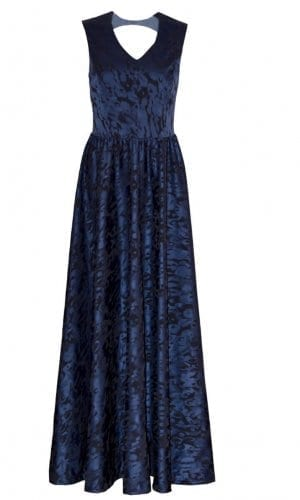 Blue Roberta Maxi Dress By Anna Netter