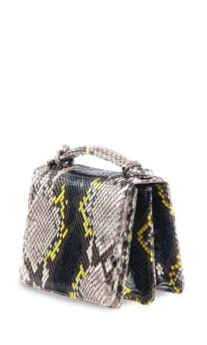 Yellow Python Annapolis Bag By Cashhimi