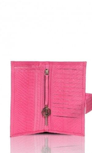 Pink Python Purse By Cashhimi