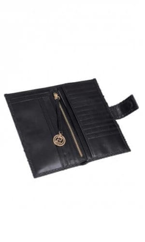 Black Python Purse By Cashhimi