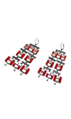 Feisha Earrings By Redgregor