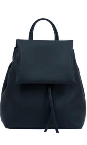 Black Mini Rucksack