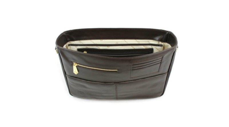 c2901dff533 Model KT Chocolate Detachable Bag