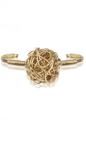 Gold Rush Treasure Bracelet By Mauke V