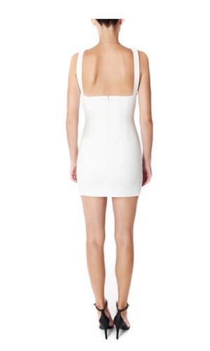 Halterneck Mini Dress By Wang Meng