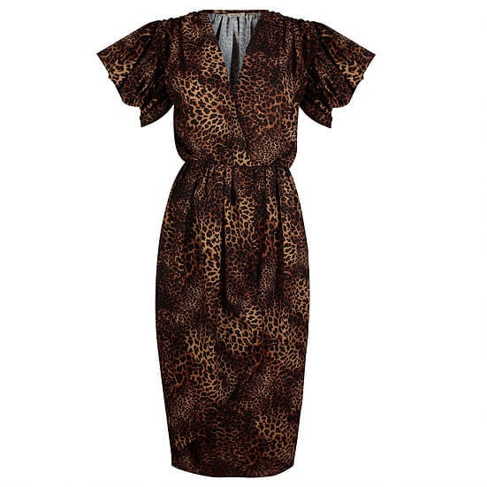 Midi Wrap Dress By A-MM-E