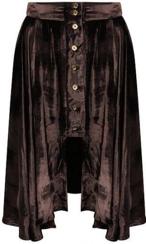 Silk Velvet Lace Skirt By A-MM-E