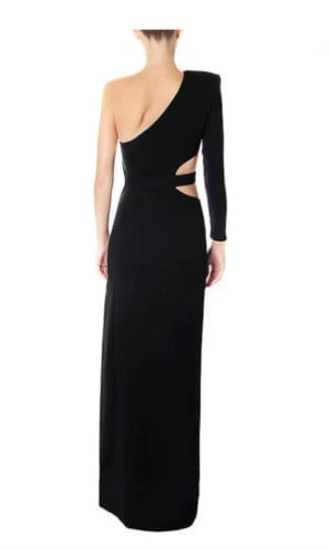Fishbone Evening Gown By Wang Meng