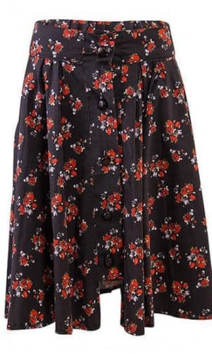 Floral Skirt Riding Skirt By A-MM-E