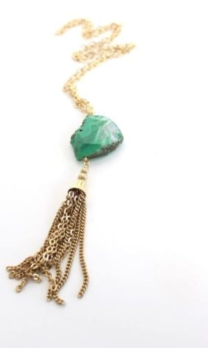 Erin Necklace By Crystal and Sage
