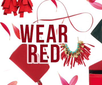 Wear Red, Shop Red!