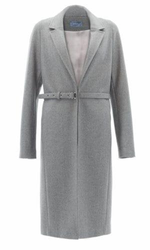 Oversized Retro Grey Coat