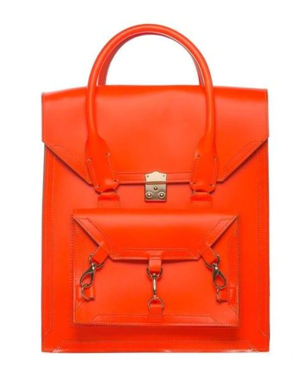 Medium Leather Pelham Bag