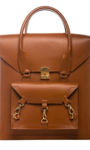 Medium Leather Pelham Bag