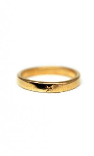 Futhark Rune Gold Ring